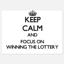 Keep Calm by focusing on Winning The L Invitations