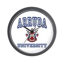 ARRUDA University Wall Clock