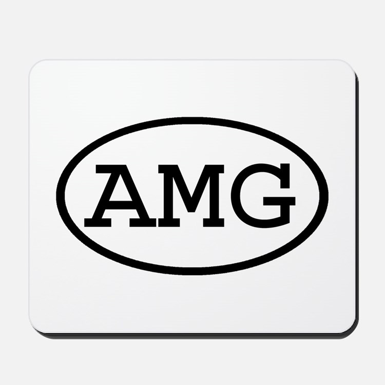AMG Oval Mousepad