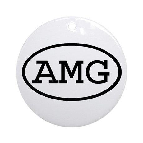 AMG Oval Ornament (Round)