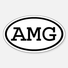 AMG Oval Oval Decal
