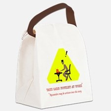 Cute Nanowrimo Canvas Lunch Bag