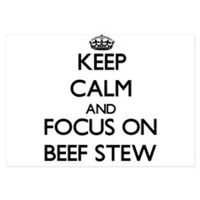 Keep Calm by focusing on Beef Stew Invitations