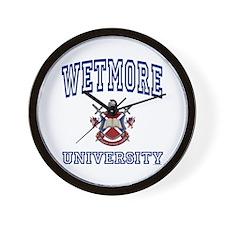 WETMORE University Wall Clock