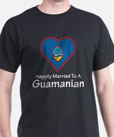 Happily Married Guamanian T-Shirt