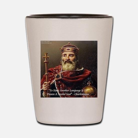 Charlemagne 2nd Language Shot Glass