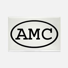 AMC Oval Rectangle Magnet