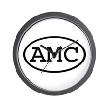 AMC Oval Wall Clock