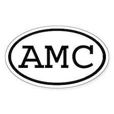 AMC Oval Oval Decal