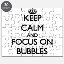 Keep Calm by focusing on Bubbles Puzzle