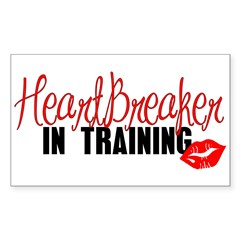Heartbreaker In Training - Gi Sticker (Rectangular