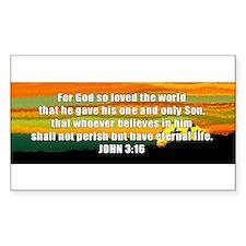 John 3:16 Decal