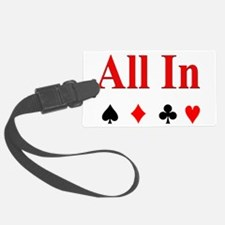 All In Luggage Tag