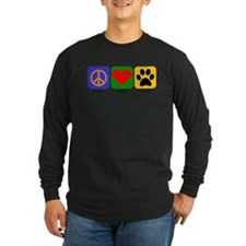 Peace Love Portie Long Sleeve T-Shirt