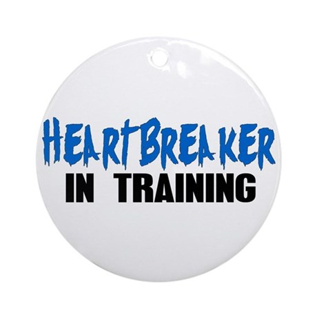 Heartbreaker In Training - Bo Ornament (Round)
