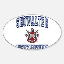 SHOWALTER University Oval Decal