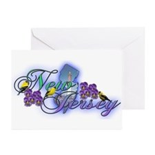 New Jersey Greeting Cards (Pk of 10)