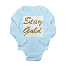Stay Gold Body Suit