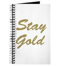 Stay Gold Journal