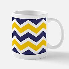 Nautical Chevron Yellow Mug