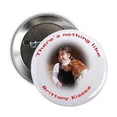 Brittany Kisses Series II Button