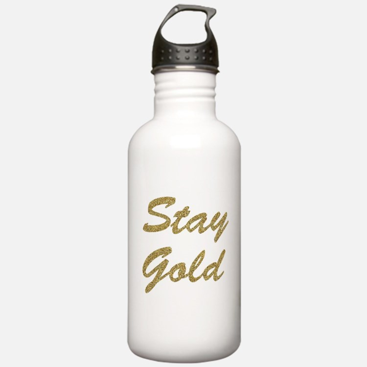 Stay Gold Water Bottle