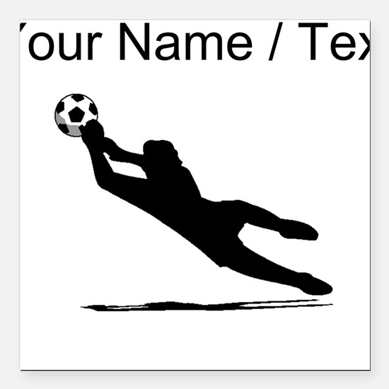 Soccer Goalie Car Magnets CafePress - Custom volleyball car magnets