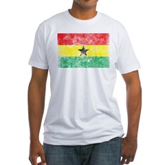 Vintage Ghana Flag Shirt