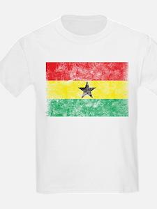 Vintage Ghana Flag T-Shirt