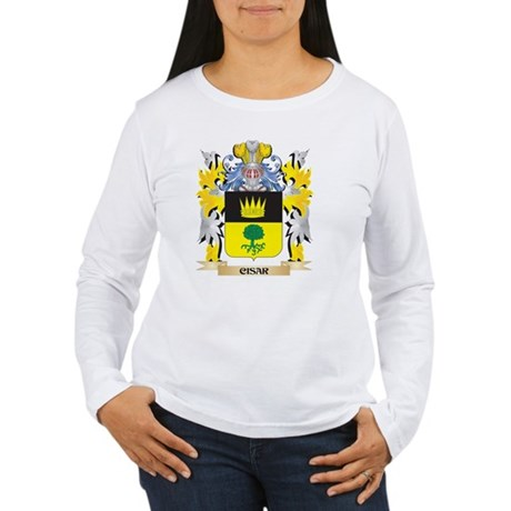 Cisar Coat of Arms - Family Cr Long Sleeve T-Shirt