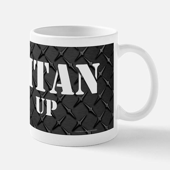 Titan Up Diamond Plate Mugs