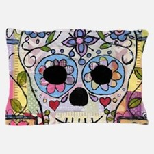 Funny Sugar skulls Pillow Case