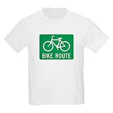 Bike Route T-Shirt