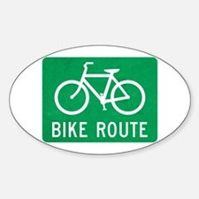 Bike Route Decal