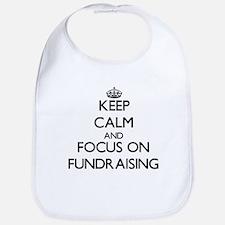 Keep Calm by focusing on Fundraising Bib