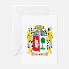 Cisco Coat of Arms - Family Crest Greeting Cards