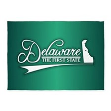 Delaware State of Mine 5'x7'Area Rug