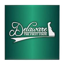 Delaware State of Mine Tile Coaster