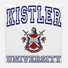 KISTLER University Tile Coaster