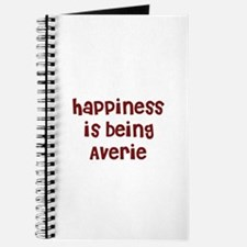 happiness is being Averie Journal
