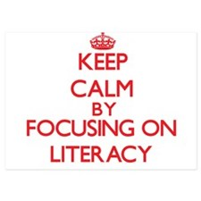 Keep Calm by focusing on Literacy Invitations