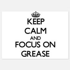 Keep Calm by focusing on Grease Invitations