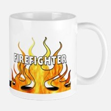 Firefighting Flames Mug