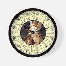 Guardian Angel Clock Wall Clock