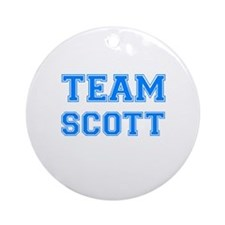 TEAM SCOTT Ornament (Round)
