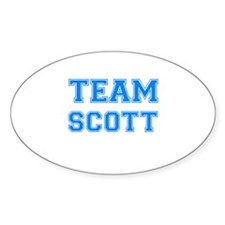 TEAM SCOTT Oval Decal