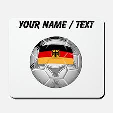 Custom Germany Soccer Ball Mousepad