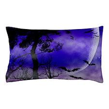 Purple Night Moon Pillow Case
