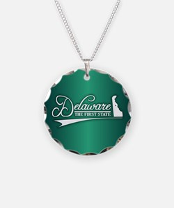 Delaware State of Mine Necklace