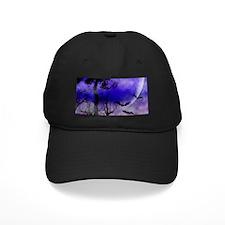 Purple Night Moon Baseball Hat